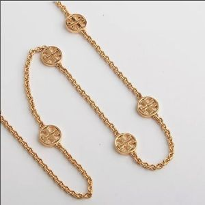 New authentic Tory Burch logo necklace
